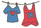 """[Logo: Kleiderkammer """"Klamotte""""]"""